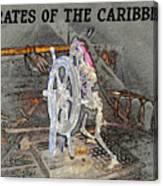 Pirates Skeleton Canvas Print