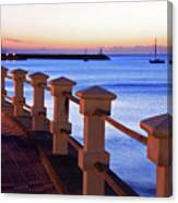 Piriapolis Coast Canvas Print