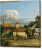 Pirna. The Obertor From The South Canvas Print