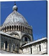 Pisa Cathedral Dome Canvas Print