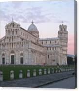 Pisa Sunset Canvas Print