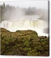 Pisew Falls Northern Manitoba Canada Canvas Print