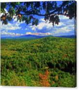 Pisgah State Park Ridge Trail View Canvas Print
