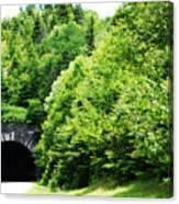 Pisgah Tunnel Canvas Print