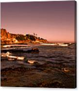 Pismo Beach Sunset Canvas Print