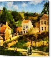 Pissaro L,hermitage Canvas Print
