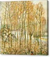 pissarro19 Camille Pissarro Canvas Print