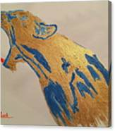 Pissed Beast Canvas Print