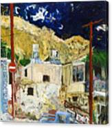 Pissouri Village Canvas Print