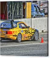 Pist 'n Broken Racing Canvas Print