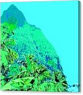 Pitons Canvas Print