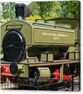 Pittencrieff Park Engine Canvas Print