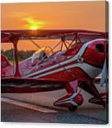 Pitts Sunset Canvas Print