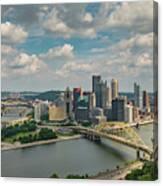Pittsburg Skyline Canvas Print