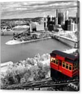 Pittsburgh From The Incline Canvas Print