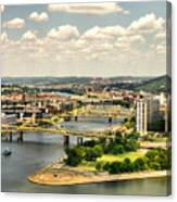 Pittsburgh Hdr Canvas Print