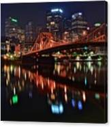 Pittsburgh Lights Canvas Print