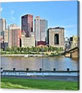 Pittsburgh Pa Panoramic Canvas Print