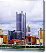 Pittsburgh Pa Skyline Canvas Print