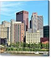 Pittsburgh Panorama June 2017 Canvas Print