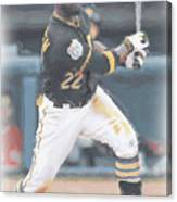 Pittsburgh Pirates Andrew Mccutchen 3 Canvas Print