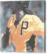 Pittsburgh Pirates Andrew Mccutchen Canvas Print