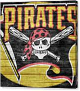 Pittsburgh Pirates Barn Door Canvas Print