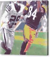 Pittsburgh Steelers Antonio Brown 1 Canvas Print