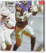 Pittsburgh Steelers Antonio Brown 3 Canvas Print