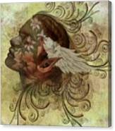 Pixie Flora Canvas Print