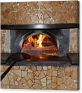 Pizza Oven Canvas Print