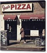 Pizza Store Canvas Print