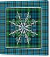 Plaid Snowflakes-jp3704 Canvas Print