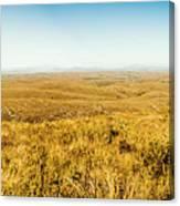 Plain Plains Canvas Print