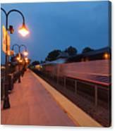 Plainfield Train Station Canvas Print