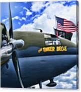 Plane - Curtiss C-46 Commando Canvas Print