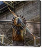 Spirit Of St Louis Propeller Airplane Canvas Print