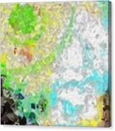Planet Green Canvas Print