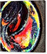 Planet In Orbit Canvas Print
