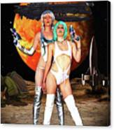Planet Of The Space Vixens Canvas Print