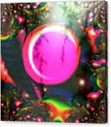 Planet Rainbow Canvas Print