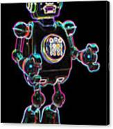Planet Robot Canvas Print