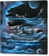Planetary Falls Canvas Print