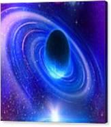 Planetary Galactic Canvas Print