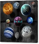 Planets Canvas Print