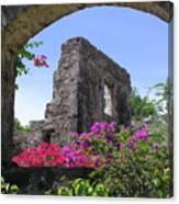 Plantation Arch Canvas Print