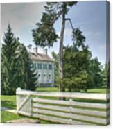 Plantation Home Canvas Print