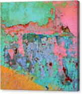 Plaster Abstract 8 By Michael Fitzpatrick Canvas Print