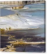 Plateau Of Colors Canvas Print