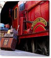 Platform Nine And Three Quarters Canvas Print